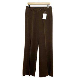 CAbi Chocolate Brown Lauren 724 Wide Leg Trousers